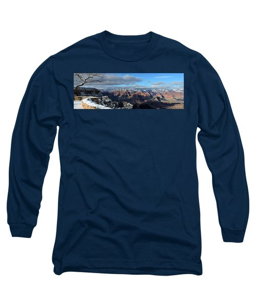 Grand Canyon Winter Vista Long Sleeve T-Shirt