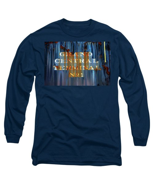 Long Sleeve T-Shirt featuring the photograph Grand Central Terminal No 1 by Karol Livote