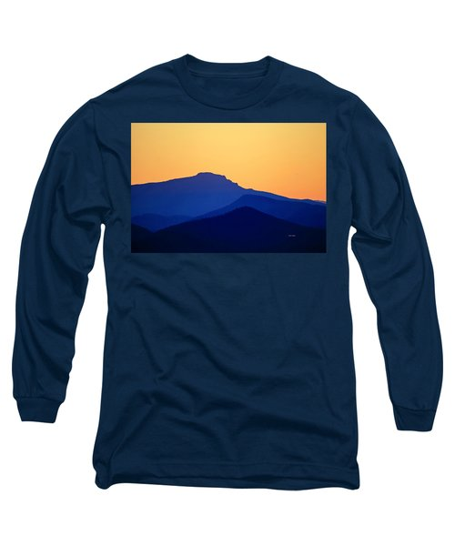 Grandfather Sunset Long Sleeve T-Shirt by Dale R Carlson