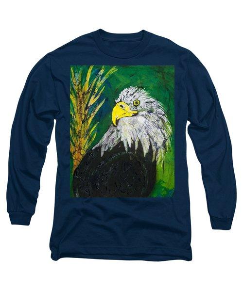 Great Bald Eagle Long Sleeve T-Shirt