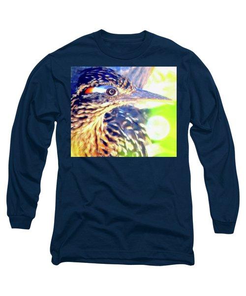 Greater Roadrunner Portrait 2 Long Sleeve T-Shirt