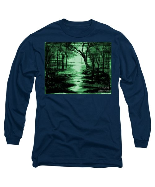 Green Mist Long Sleeve T-Shirt