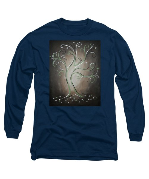 Green Tree Long Sleeve T-Shirt