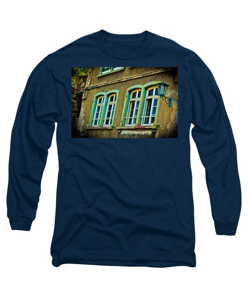 Green Windows Long Sleeve T-Shirt
