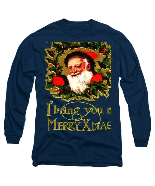 Greetings From Santa Long Sleeve T-Shirt