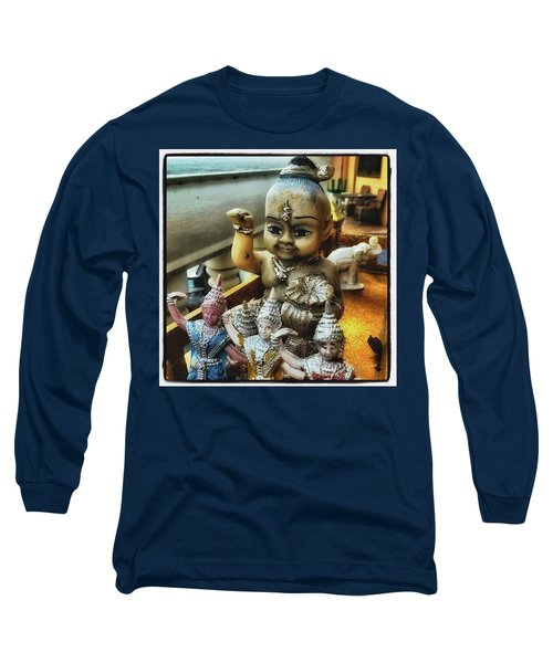 Long Sleeve T-Shirt featuring the photograph Greetings From Thailand. These Jolly by Mr Photojimsf