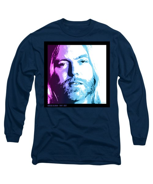 Gregg Allman 1947 2017 Long Sleeve T-Shirt