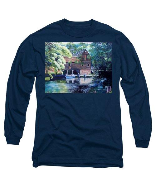 Grist Mill Philipsburg N Y Long Sleeve T-Shirt