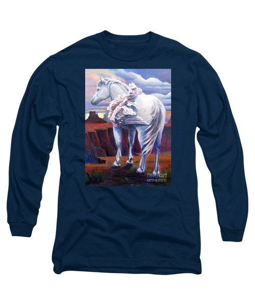 Grounded Long Sleeve T-Shirt by Pat Burns