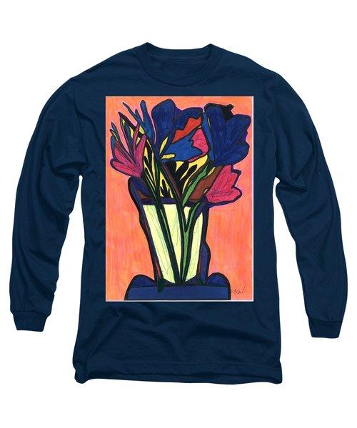 Growing Wild,  Long Sleeve T-Shirt by Darrell Black