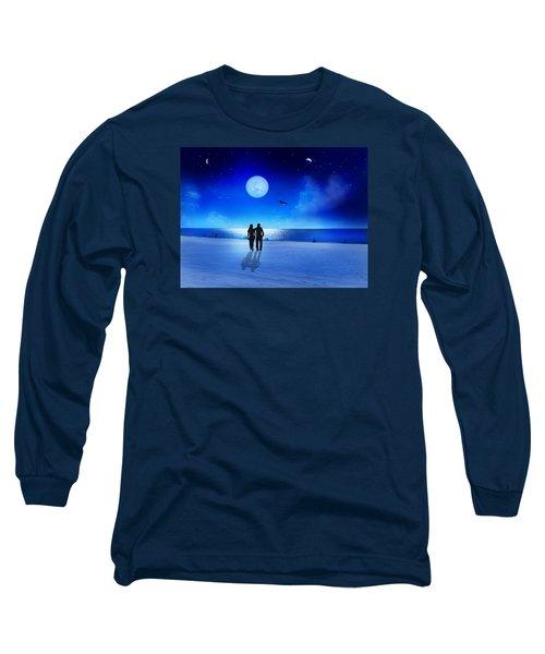 Night Blessings Long Sleeve T-Shirt by Bernd Hau