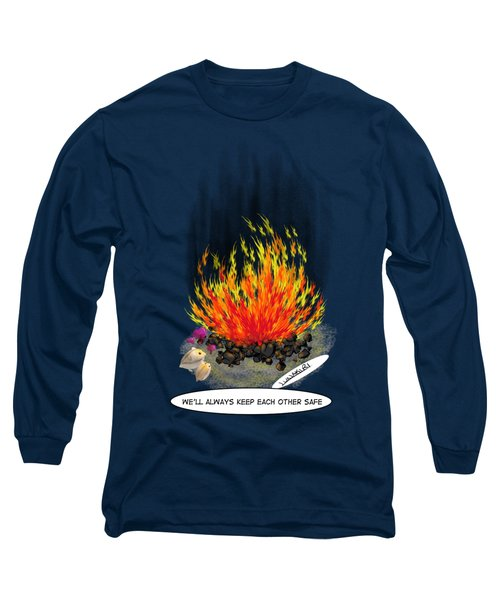 Hamsters By A Fire Long Sleeve T-Shirt