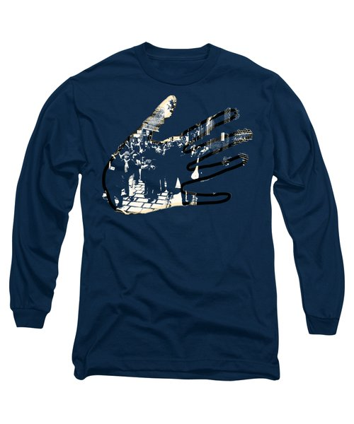 Hands On Laconia Long Sleeve T-Shirt by Mim White