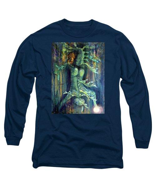 Hanged Man Long Sleeve T-Shirt by Ashley Kujan