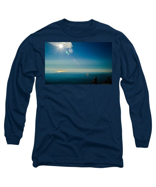 Hanging Out On The Summit Long Sleeve T-Shirt