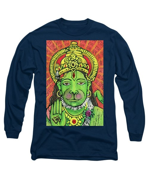 Hanuman Portrait  Long Sleeve T-Shirt
