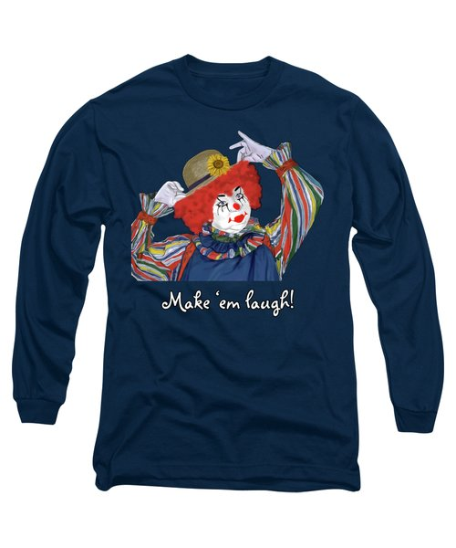Happy Clown Long Sleeve T-Shirt