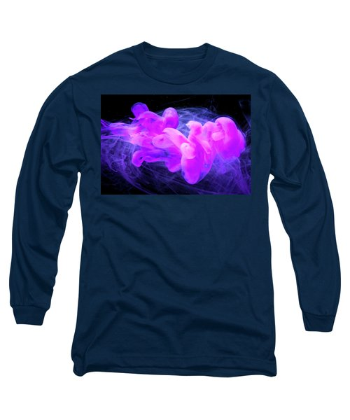 Happy Soul - Fine Art Photography - Paint Pouring Long Sleeve T-Shirt by Modern Art Prints