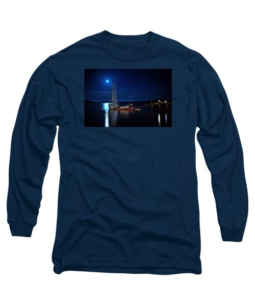 Harbor Moon Long Sleeve T-Shirt