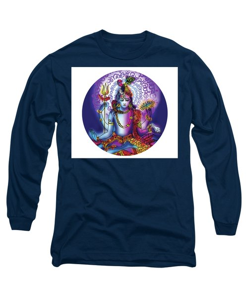 Hari Hara Krishna Vishnu Long Sleeve T-Shirt