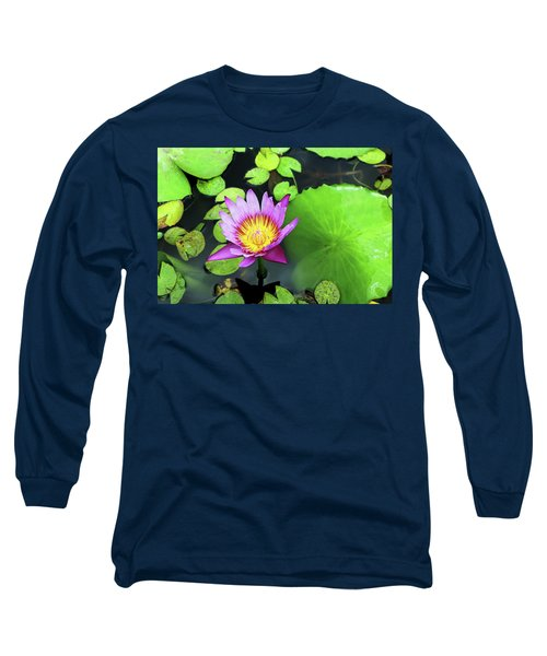Hawaii Flora Long Sleeve T-Shirt by Denise Moore