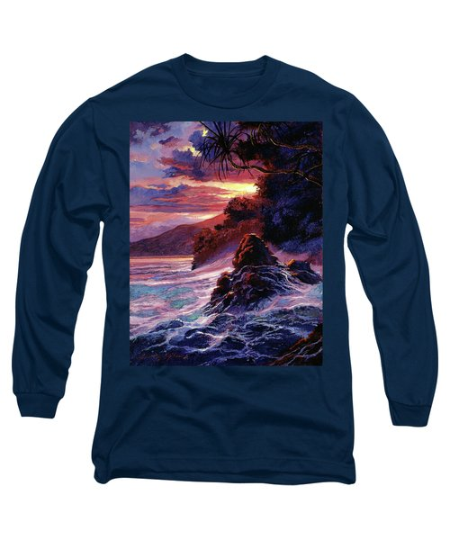 Hawaiian Sunset - Kauai Long Sleeve T-Shirt