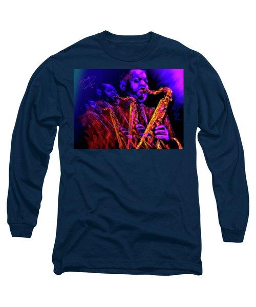 Hawk Long Sleeve T-Shirt by DC Langer