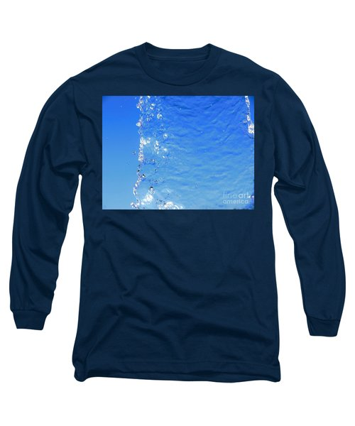 Long Sleeve T-Shirt featuring the photograph Waterfall by Ray Shrewsberry