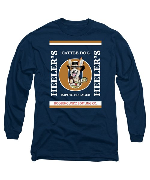 Heeler's Cattle Dog Imported Lager Long Sleeve T-Shirt