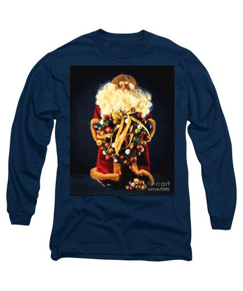 Here Comes Santa Long Sleeve T-Shirt