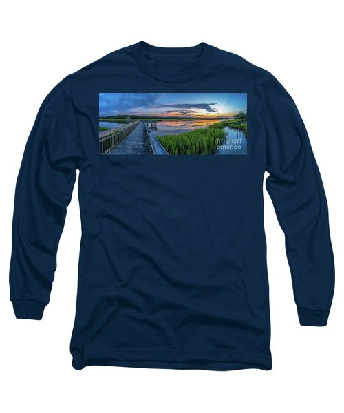 Heritage Shores Nature Preserve Sunrise Long Sleeve T-Shirt