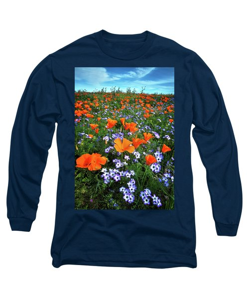High Desert Wildflowers Long Sleeve T-Shirt