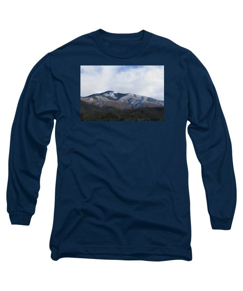 Hills Of Taos Long Sleeve T-Shirt by Christopher Kirby