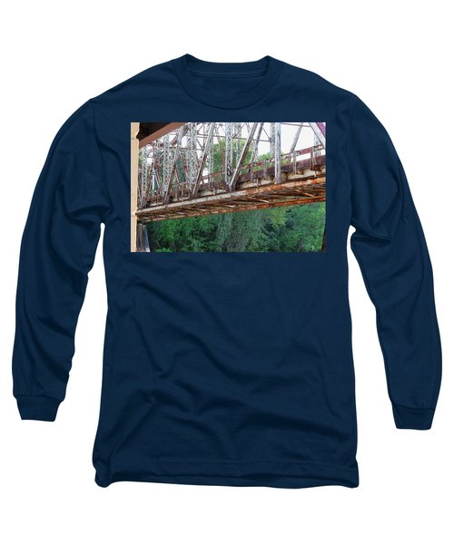 Historic Brazoria Bridge Long Sleeve T-Shirt