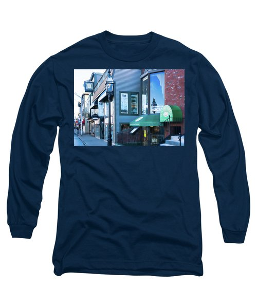 Historic Newport Buildings Long Sleeve T-Shirt by Nancy De Flon