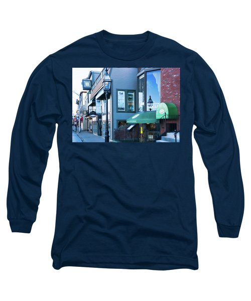 Historic Newport Buildings Long Sleeve T-Shirt