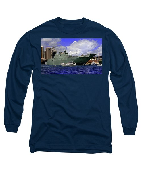 Hmas Adelaide IIi Long Sleeve T-Shirt