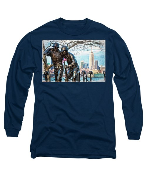 Hoboken War Memorial Long Sleeve T-Shirt