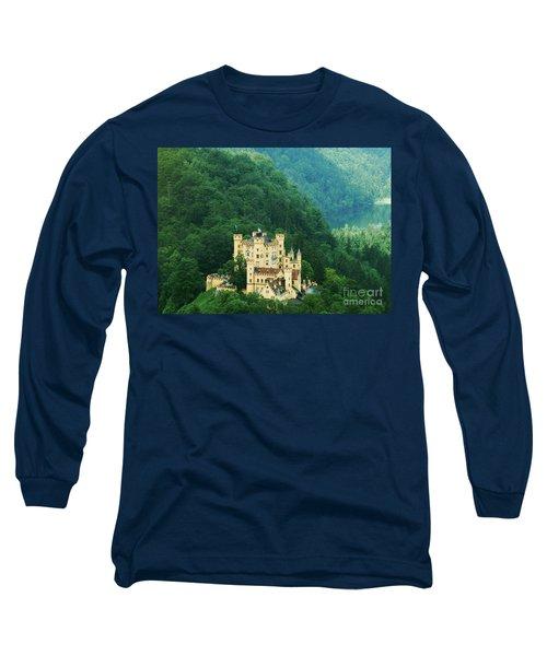 Hohenschwangau Castle 1 Long Sleeve T-Shirt by Rudi Prott