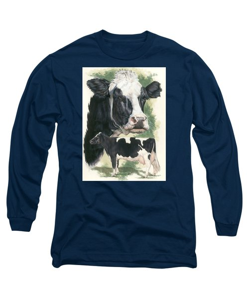 Holstein Long Sleeve T-Shirt by Barbara Keith