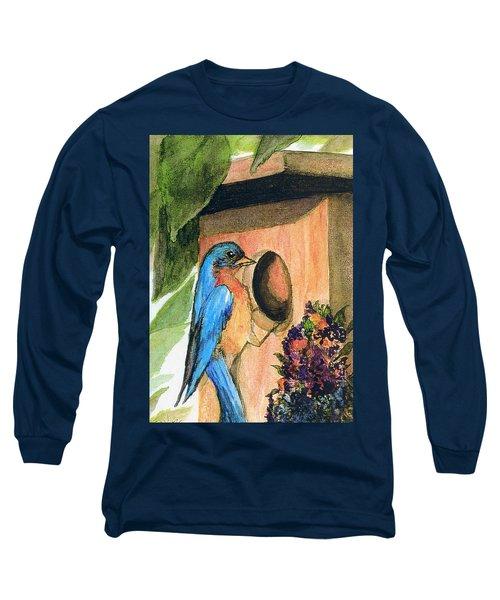 Home Sweet Home Long Sleeve T-Shirt by Gail Kirtz