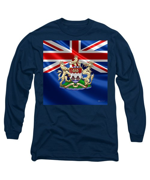 Hong Kong - 1959-1997 Coat Of Arms  Long Sleeve T-Shirt