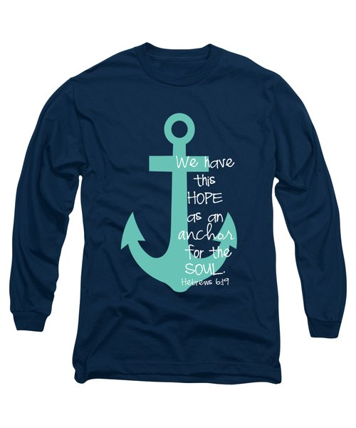 Hope Customizable Background Long Sleeve T-Shirt