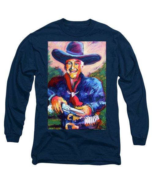 Hoppy's Got A Gun Long Sleeve T-Shirt