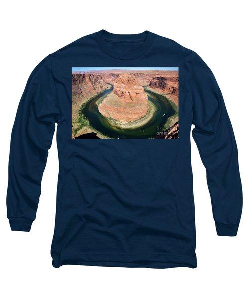 Horseshoe Bend Colorado River Long Sleeve T-Shirt