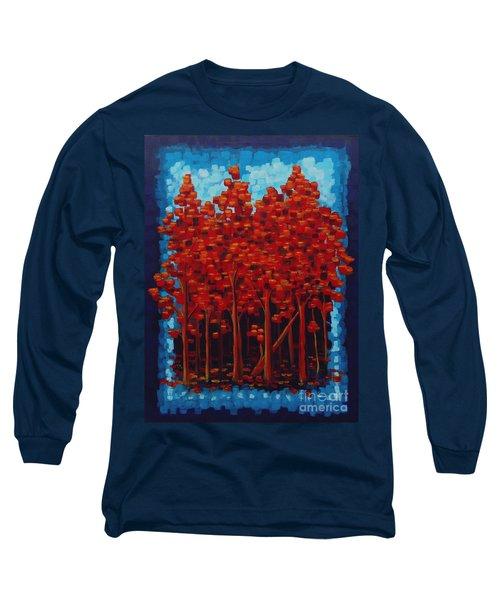 Hot Reds Long Sleeve T-Shirt