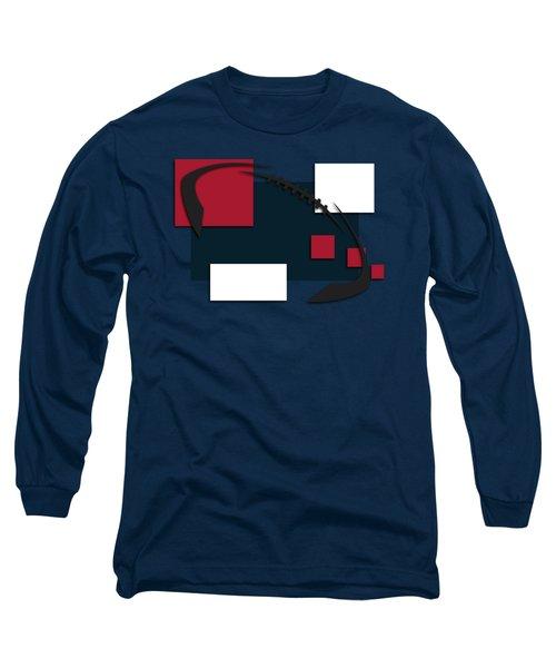 Houston Texans Abstract Shirt Long Sleeve T-Shirt