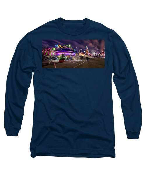 Houston Texas Live Stock Show And Rodeo #2 Long Sleeve T-Shirt by Micah Goff