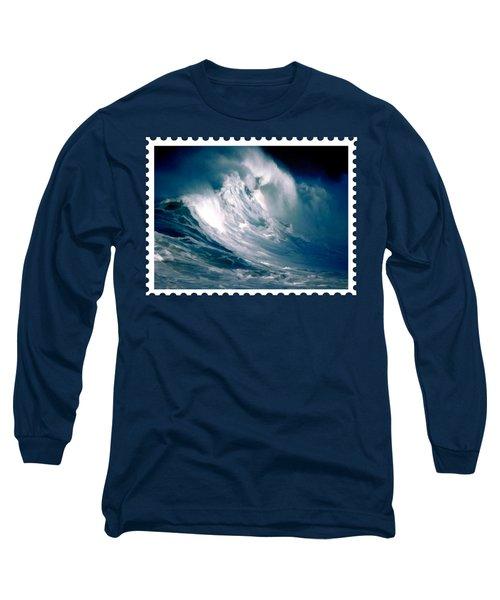 Huge Rogue Ocean Wave Long Sleeve T-Shirt