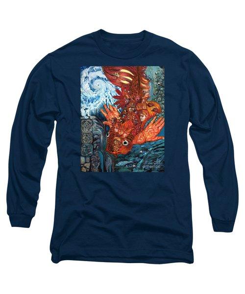 Humanity Fish Long Sleeve T-Shirt by Emily McLaughlin